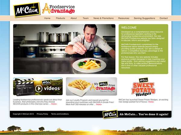 McCain Foodservice Australia and New Zealand